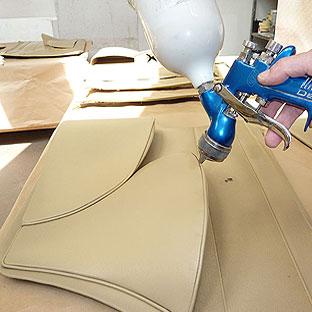 autosattlerei struck jaguar mk2 polster und panelen im originalton f rben. Black Bedroom Furniture Sets. Home Design Ideas